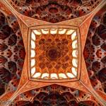 Ali Qapu Ceiling Isfahan iran سقف عمارت عالی قاپو اصفهان  150x150 - عکس های پانوراما ایران / Iran 360 panorama Little Planet