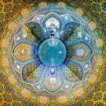 Flower of Sheikh Lotfollah Mosque Isfahan گل معماری اصفهان مسجد شیخ لطف اله اصفهان 150x150 - عکس های پانوراما ایران / Iran 360 panorama Little Planet