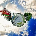 Little planet omid360.com باغ ملی اراک10 150x150 - ایران در قاب پانوراما / Iran 360 panorama Little Planet