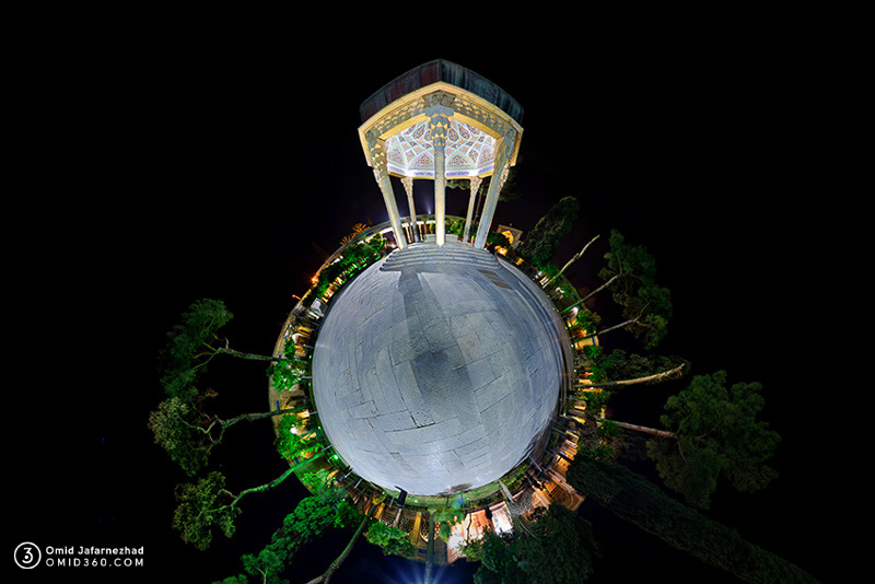 تور مجازی آرامگاه حافظ