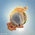 Little planet omid360.com 15 کلیسای گری گوری استفان همدان 150x150 - ایران در قاب پانوراما / Iran 360 panorama Little Planet