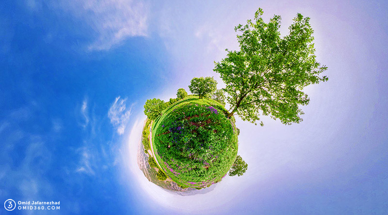 تور مجازی طبیعت لرستان خرم آباد