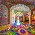 Nasir al Mulk Mosque Shiraz رقص رنگ و نور مسجد نصیر الملک شیراز 150x150 - ایران در قاب پانوراما / Iran 360 panorama Little Planet