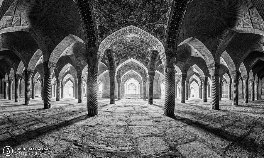 تور مجازی مسجد وکیل