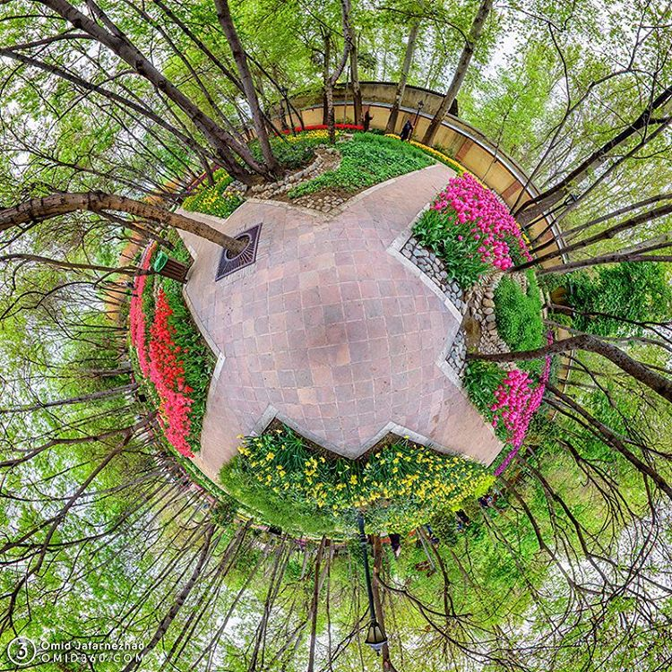 Baghe irani little planet
