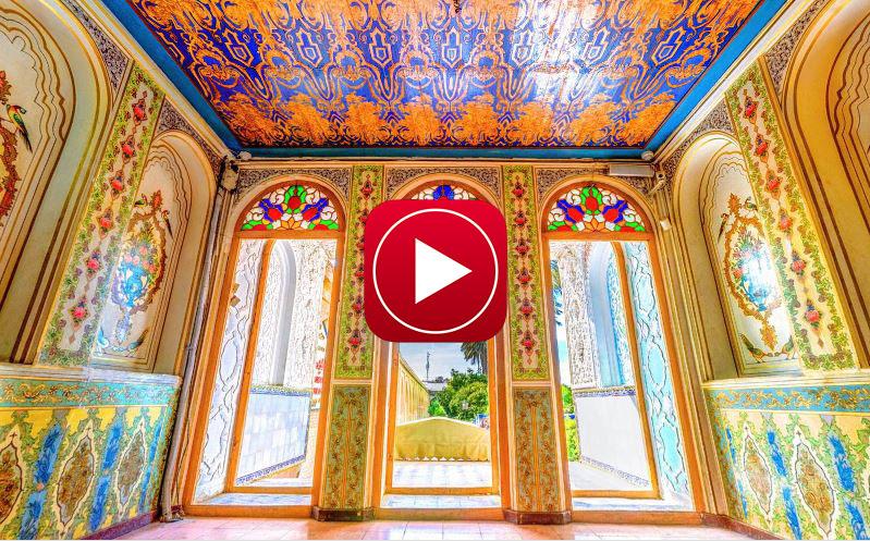تور مجازی خانه نارنجستان قوام شیراز