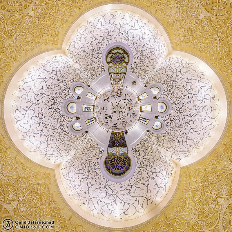 Sheikh Zayed Grand Mosque Flower