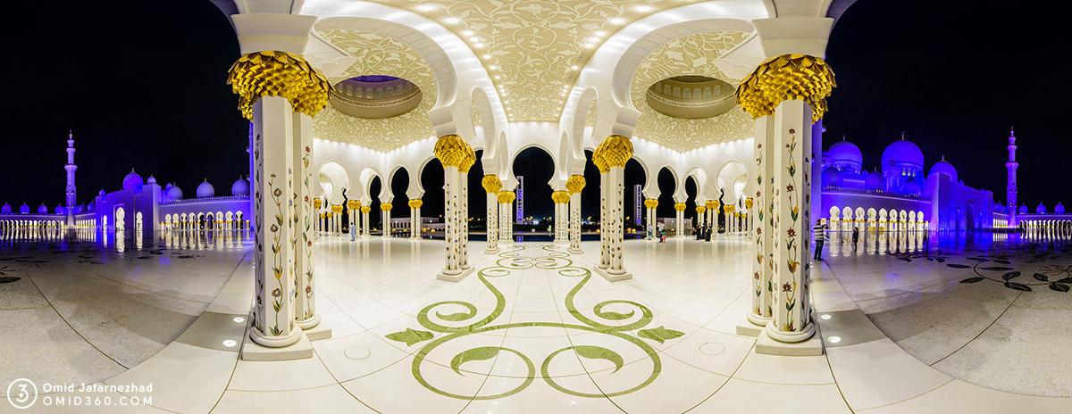 Sheikh Zayed Mosque White Night