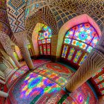 colorful windows Nasir Al Mulk Mosque 150x150 - ایران در قاب پانوراما / Iran 360 panorama Little Planet