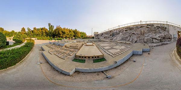 تور مجازی باغ موزه مینیاتور