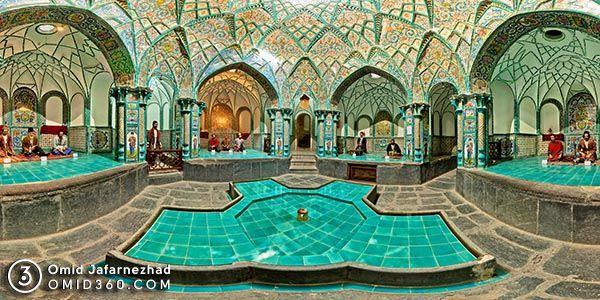 تور مجازی موزه حمام چهارفصل اراک