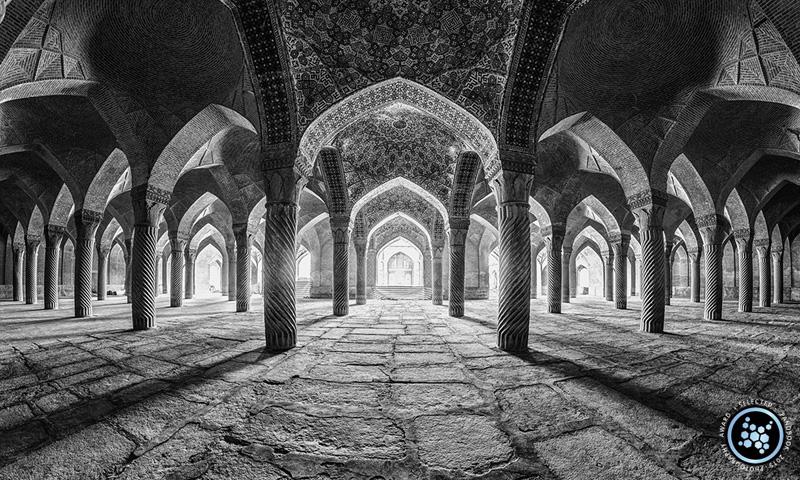مسجد وکیل شیراز  - منتخب جشنواره عکس پانوبوک 2015