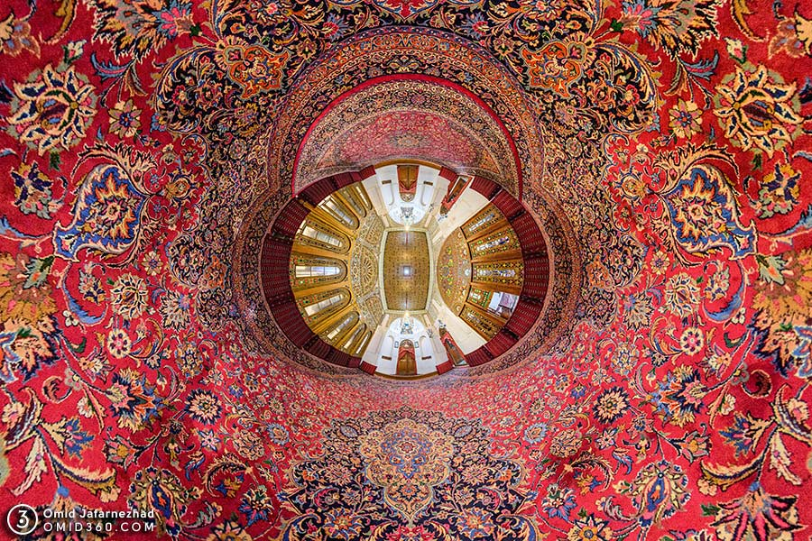 Aminiha Hosseiniyeh 2 - تور مجازی بازدید از جاذبه های گردشگری قزوین / Qazvin Virtual Tour