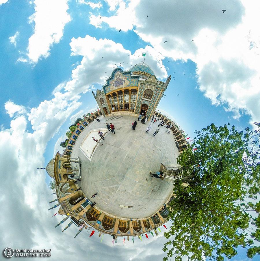 امام زاده حسین قزوین - تور مجازی قزوین / Qazvin Virtual Tour