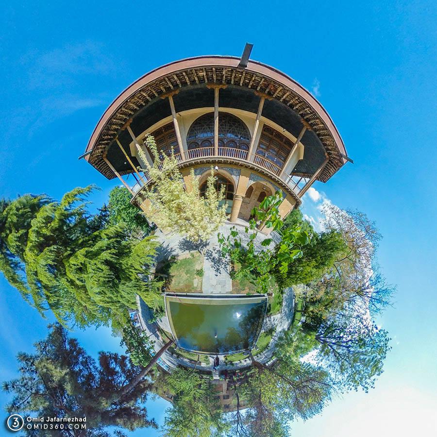 عمارت چهل ستون قزوین 1 - تور مجازی قزوین / Qazvin Virtual Tour
