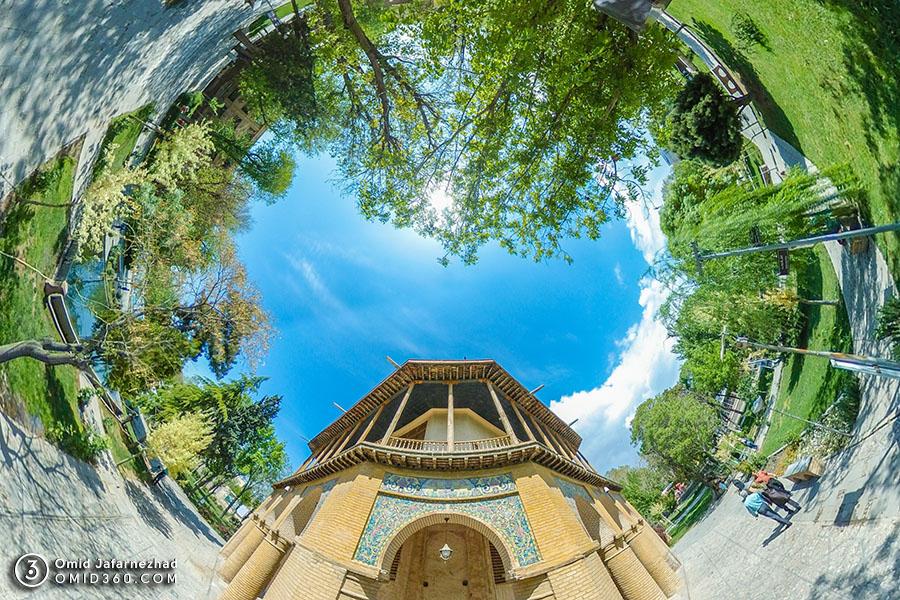 چهل ستون قزوین 2 - تور مجازی بازدید از جاذبه های گردشگری قزوین / Qazvin Virtual Tour