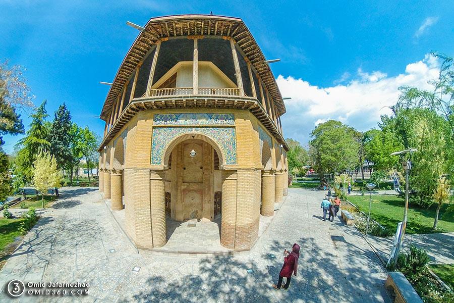 چهل ستون قزوین 3 - تور مجازی بازدید از جاذبه های گردشگری قزوین / Qazvin Virtual Tour