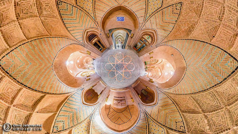 کاروانسرای سعدالسلطنه بازار قزوین 2 - تور مجازی قزوین / Qazvin Virtual Tour