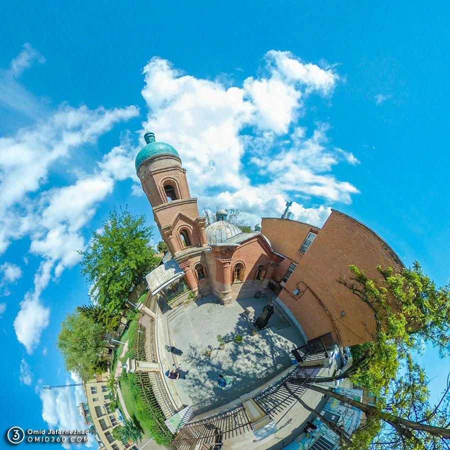 کلیسای کانتور قزوین 1 - تور مجازی قزوین / Qazvin Virtual Tour