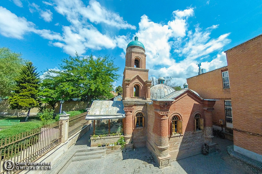 کلیسای کانتور قزوین 2 - تور مجازی قزوین / Qazvin Virtual Tour