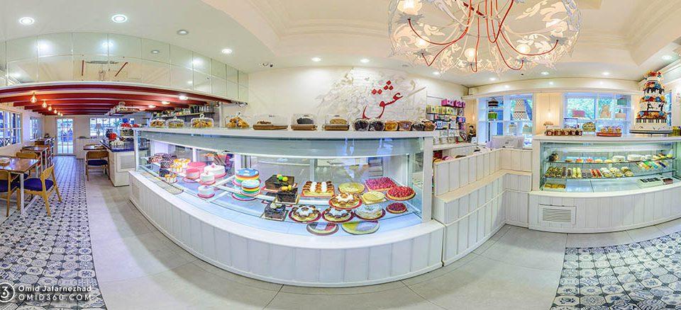 تور مجازی کافی شاپ شیرینی فروشی