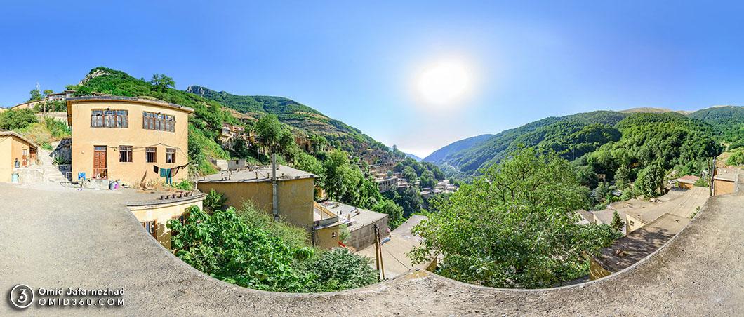 عکس پانوراما روستای ماسوله