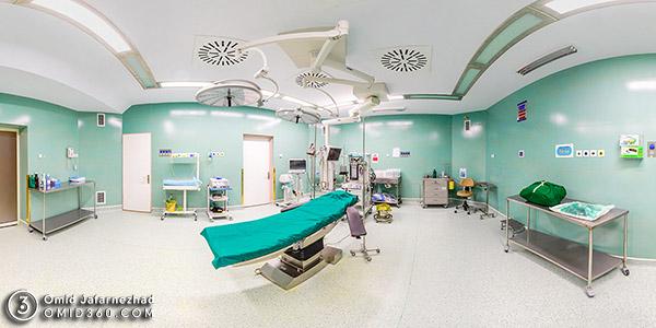 تور مجازی بیمارستان خیریه غیاثی