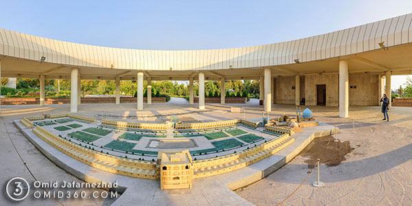 تور مجازی باغ موزه مینیاتور تهران