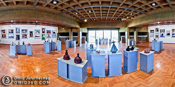 تور مجازی آثار تجسمی چهارمین جشنواره بین اللملی فجر فرهنگسرای نیاوران
