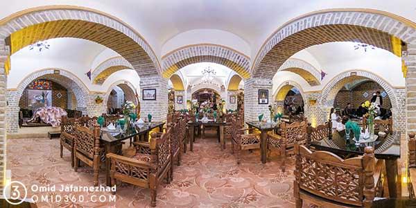 تور مجازی رستوران سنتی شمس العماره
