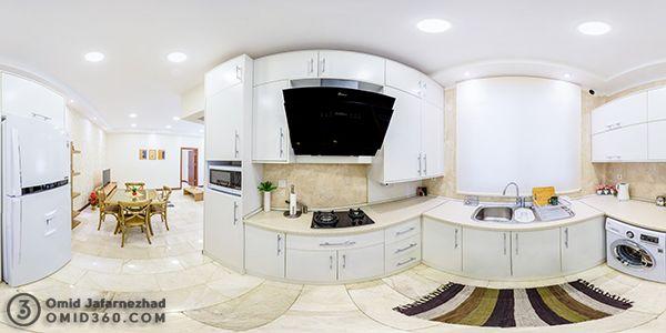تور مجازی مهمانپذیر سروینه عکس پانوراما و تور مجازی آپارتمان و محل اقامت در گوگل مپ