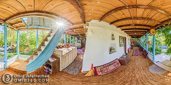 تور مجازی اقامتگاه بومگردی فاندرکتام