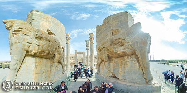 تور مجازی تخت جمشید شیراز - تور مجازی شیراز / Shiraz Virtual Tour