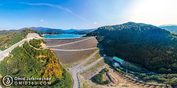 تور مجازی نیروگاه برق آبی شهر بیجار شرکت ماه تاب