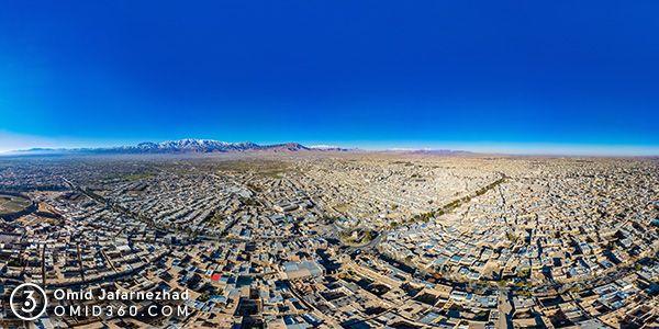 تور مجازی کاشان عکس هوایی 360 درجه