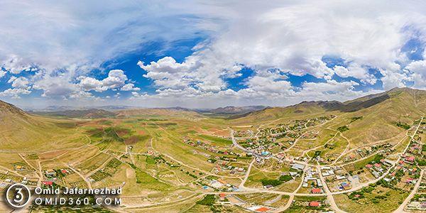 روستای خانه میران عکس هوایی - عکاسی هوایی 360 درجه - تور مجازی هوایی