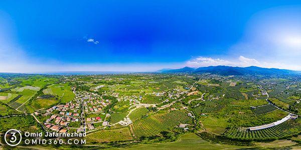 تور مجازی بابولات تنکابن مازندران - عکاسی هوایی 360 درجه - تور مجازی هوایی