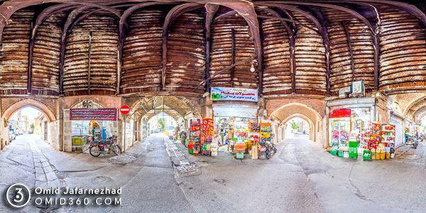 تور مجازی چهار سوق چوبی تهران