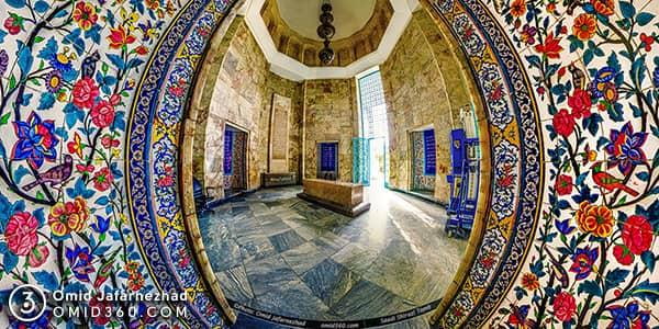 تور مجازی آرامگاه سعدی شیراز