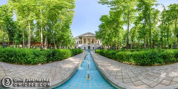 تور مجازی باغ فردوس موزه سینما