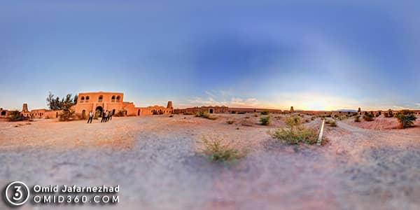 تور مجازی قلعه شفیع آباد کرمان