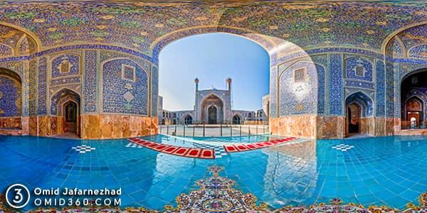 تور مجازی مسجد شاه اصفهان