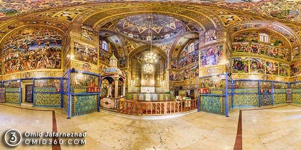 تور مجازی کلیسای وانک